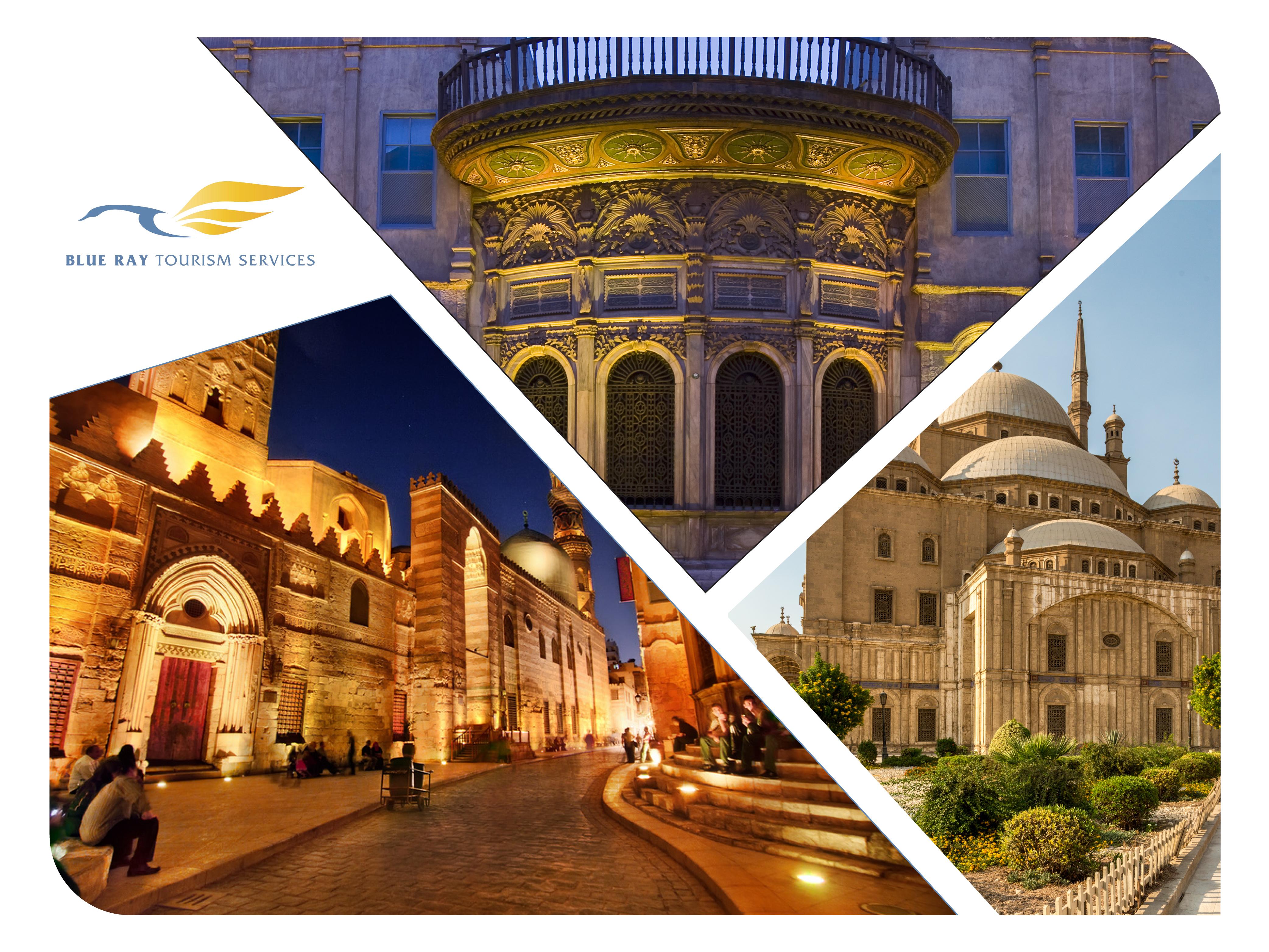أشهر ثلاثة أماكن سياحية في القاهرة