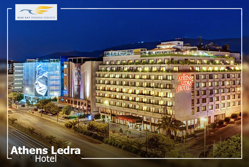 Athens Ledra Hotel, Athens, Greece – 4 Nights/5 Days.