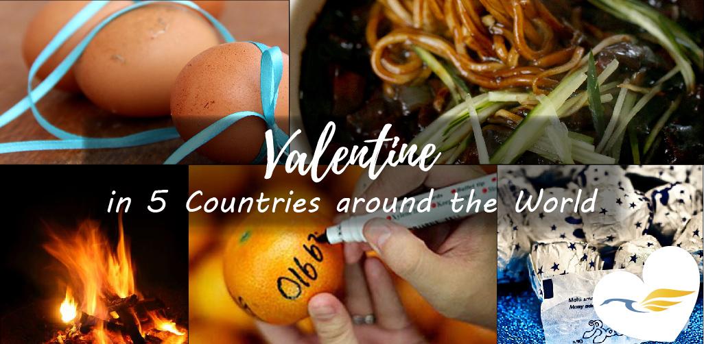 Valentine in 5 Countries around the World